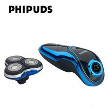 Новый Бренд Тело Моющиеся Электробритвы для Мужчин продолжительностью 90 Минут, Аккумуляторная Электрическая бритва 3D Плавающие Головки(China (Mainland))