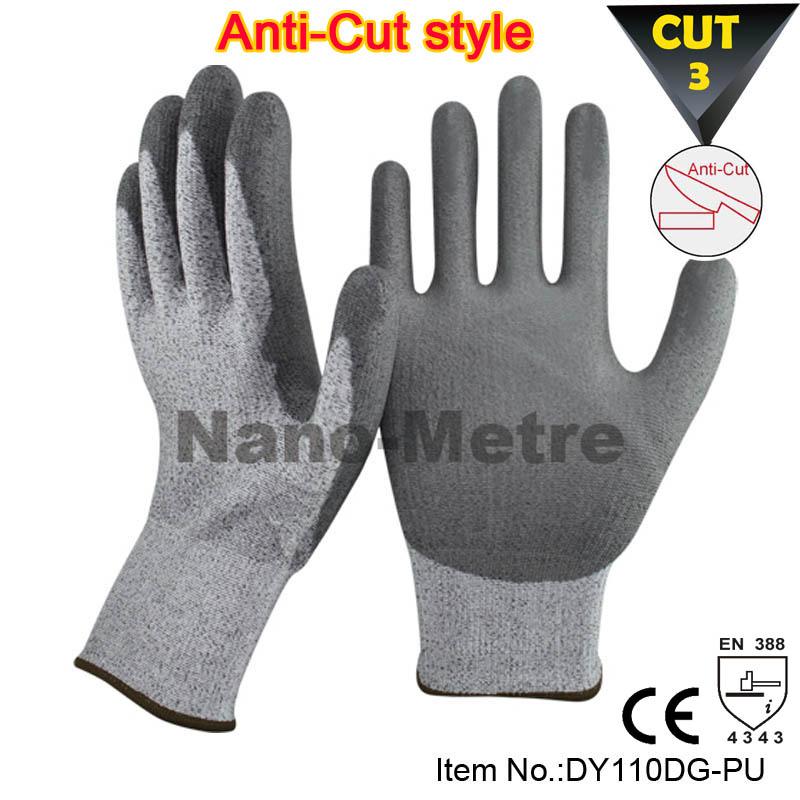 Гаджет  NMSafety 2015 NEW Cut Resistant Level 5 working Protective Gloves,Fashion Dyneema glove None Безопасность и защита