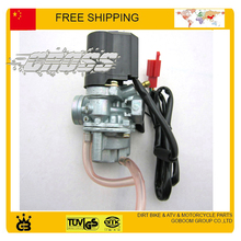 49cc 50cc Carburetor electronic choke 2 stroke engine DIO50 CL50 qjiang gy6 scooter accessories free shipping