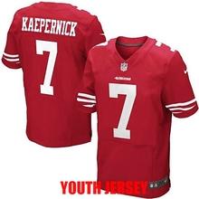 Stitiched San Francisco 49ers Colin Kaepernick Patrick Willis Joe Montana Jerry Rice NaVorro Bowman For YOUTH KIDS,camouflage(China (Mainland))