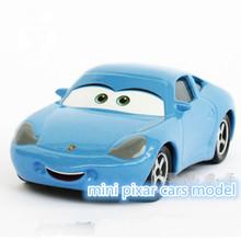 The Pixar Cars Sally 1:55 Metal Alloy/Plastic Diecast Toy Car Quality goods brand kids toys(wanju008)