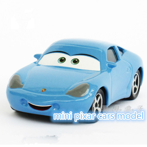 The Pixar Cars Sally 1:55 Metal Alloy/Plastic Diecast Toy Car Quality goods brand kids toys(wanju008)