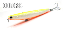 2016 Hot model Promotion 5pcs/lot  fishing lures,fishing bait 110mm 13g pencil bait, mixed colors,free shipping