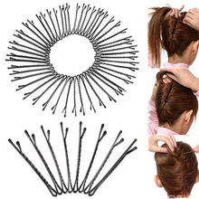 60Pcs hot selling invisible Flat Top Waved Bobby Pins Grips HairClips Salon Barrette hair accessories Ornament topping(China (Mainland))