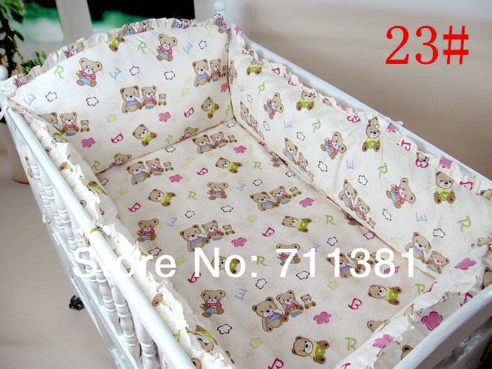 Free Shipping And Friendly Service Baby Bedding Kit Baby Bed Around Cartoon Character Mattress On Sale(China (Mainland))
