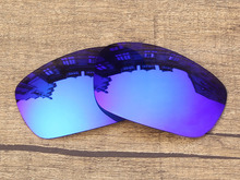 Polycarbonate-Ice Blue Mirror Replacement Lenses For Jawbone Sunglasses Frame 100% UVA & UVB Protection