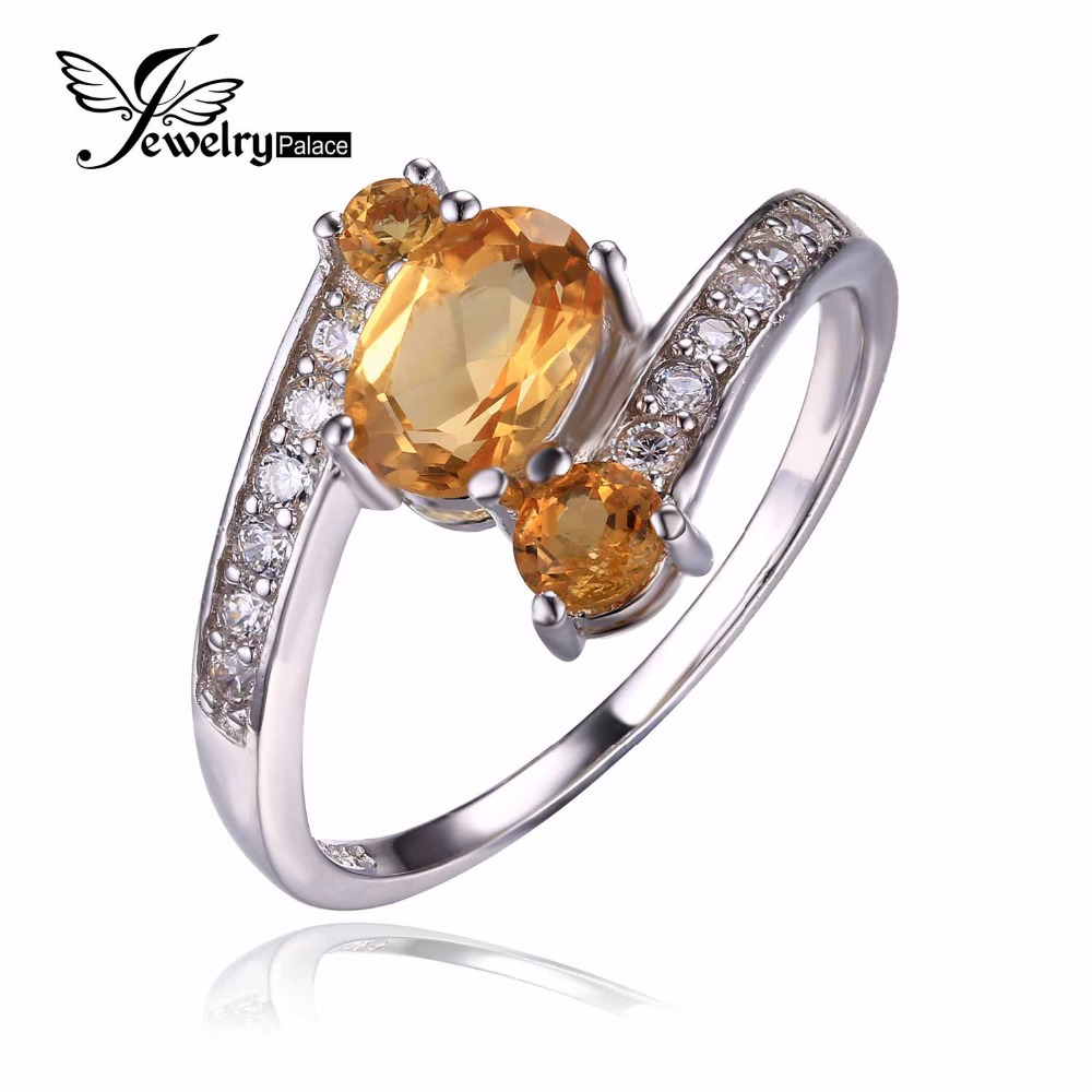 Promotion 2.48ct Natural Yellow Citrine Ring Pure Solid 925 Sterling Silver Oval Cut Women Party Fine Jewelry 2016 Brand New(China (Mainland))