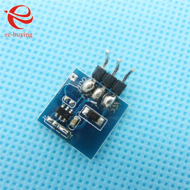 10pcs/lot TTP223 Module Capacitive Touch Switch Button Self-Lock Key Module 2.5-5.5V(China (Mainland))