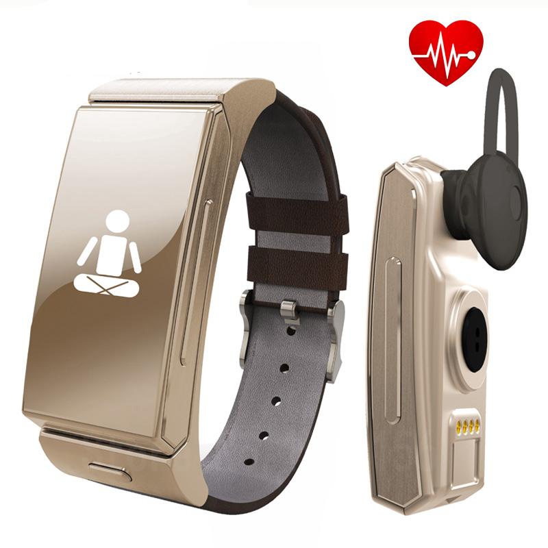 Original Uwatch U20 Umini Smart Bracelet watch + Earphone / headset MTK2502 Heart Rate Monitor Bluetooth Fitness Tracker<br><br>Aliexpress