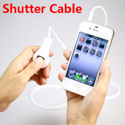 Cell phone Camera Remote Control Shutter Cable Line for