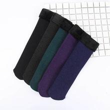 Lkwder 4 Pasang Wanita Musim Gugur Musim Dingin Beludru Penebalan Kaus Kaki Santai Salju Termal Menjaga Tidur Kaus Kaki Wanita Sox Calcetines(China)