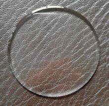 Envío gratis plana Mineral vidrio de reloj crystal seleccionar tamaño de 30 mm a 45 mm