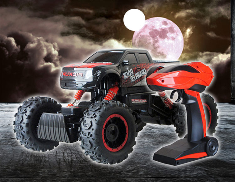 2.4G RC Cars 1:14 Remote Control Car High Speed Sports Game Off-Road Dirt Bike Shock Resistant Monster Trucks Rock Crawler(China (Mainland))