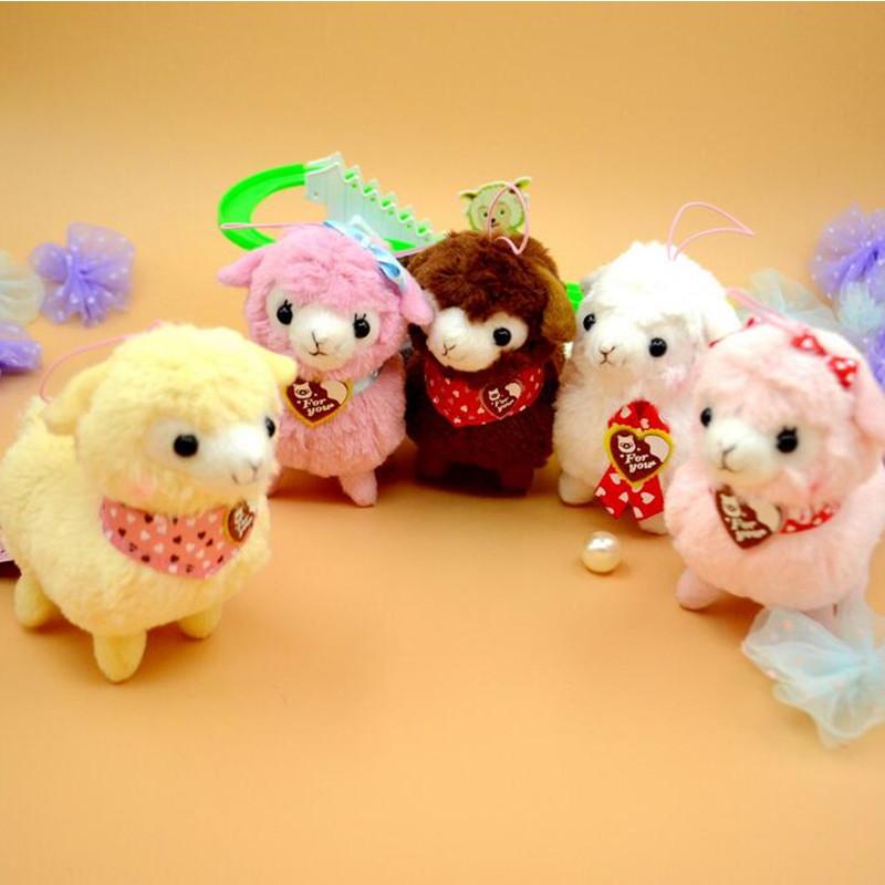 12cm Good Night Alpaca font b Japan b font Amuse Alpacasso Arpakasso Plush Stuffed Doll Kids