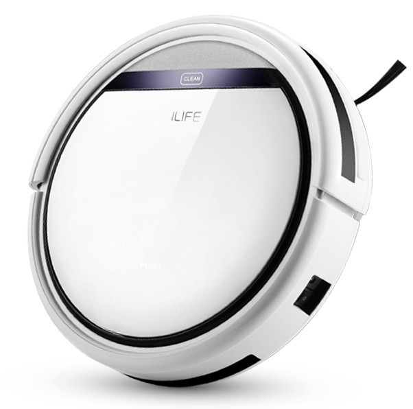 Auto Recharge Chuwi iLife Beatles V3 Robot Vacuum Cleaner for Home HEPA Filter Cliff Sensor Remote Control Collide-Avoidance(Hong Kong)