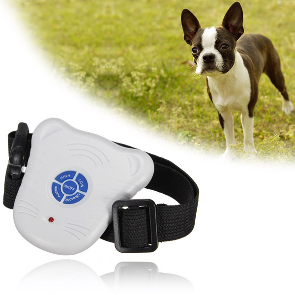 2015 Newest Best Promotion Safe Ultrasonic Dog Pet Stop Barking Anti Bark Training Trainer Control Collar(China (Mainland))