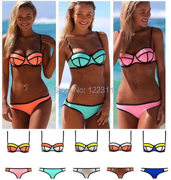 2014 bikini swimwear women good quality new style bathing suit gift tight sexy gift(China (Mainland))