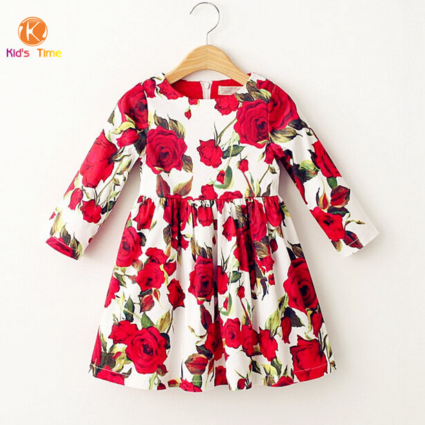 Newest 2015 designer brand baby girl clothes girls dresses Baby clothing designers
