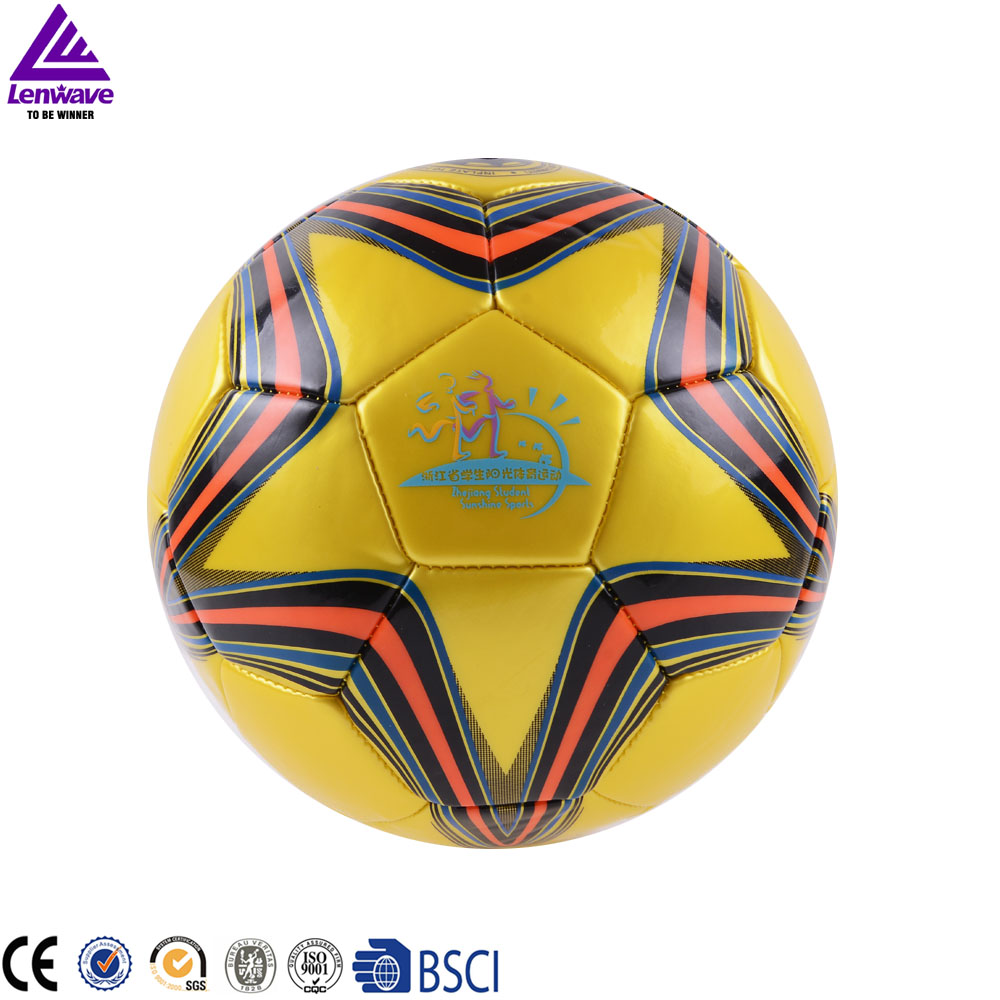 2016 New Champions League Ball Football Size 5 Hot Sales Lenwave Brand Soccer Balls High Quality Free Shipping(China (Mainland))