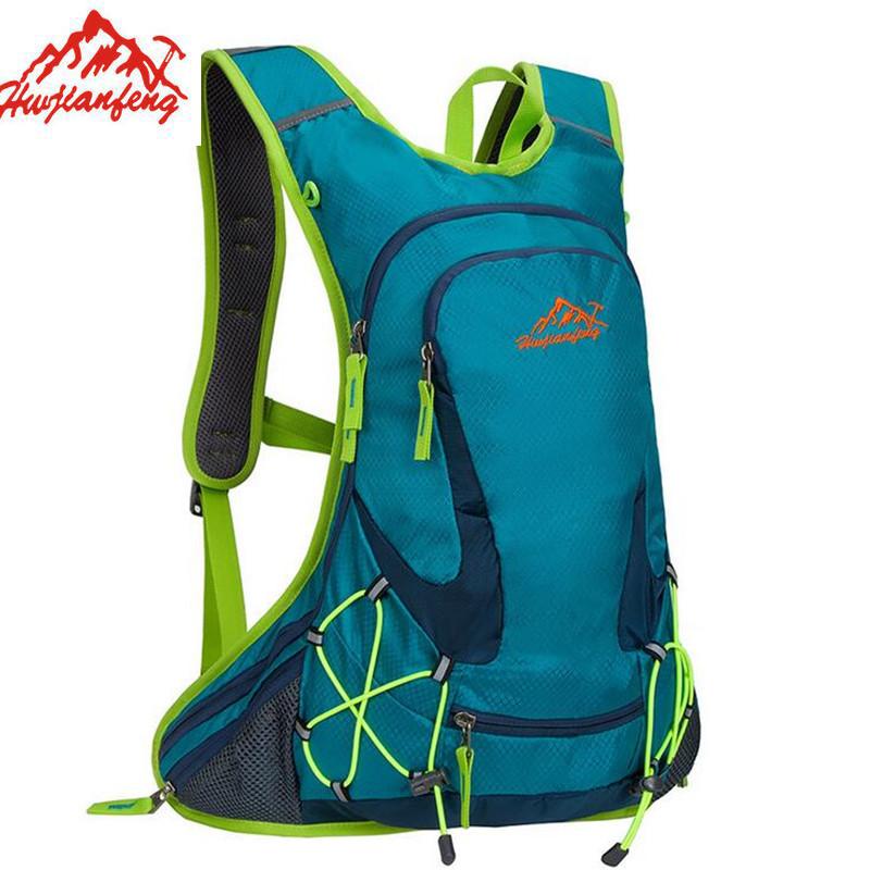 Wholesale Waterproof Nylon Men Backpack High-Quality Hike Camp Climb Bag Women Mochila Travel Bag Rucksack With Helmet Net X629