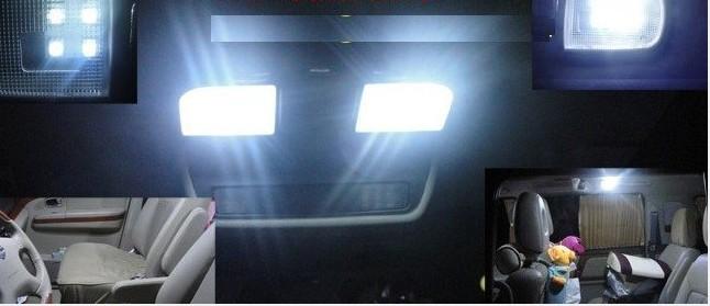 10pcs Xenon White 36mm Festoon 5050 6 SMD LED C5W Car Led Auto Interior Dome Door