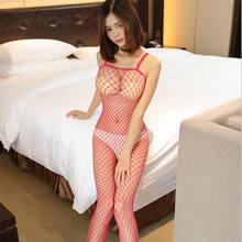 ผู้หญิงเสื้อผ้าดูผ่านเปิด Crotch Bodystockings (China)