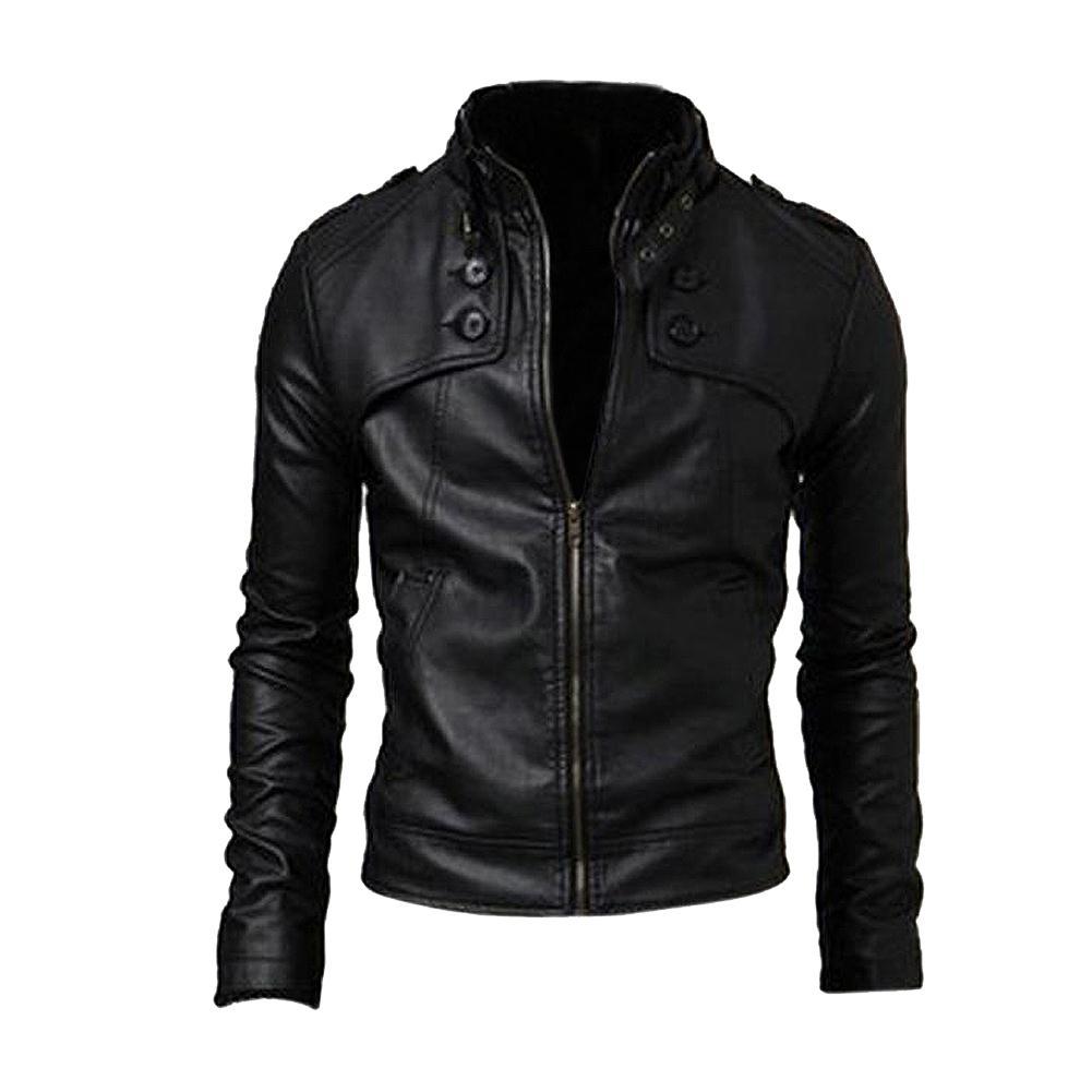 Купить Кожаную Куртку Демисезонную Мужскую Куртку