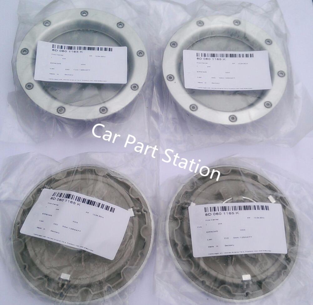 NEW 4pcs WHEEL CENTER CAPS RIM HUB CAP for 146mm 8D0601165K 8D0 601 165 K(China (Mainland))
