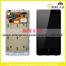 new Original Guarantee For Nokia lumia 800 LCD display touch screen digitizer Assembly Free shipping