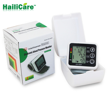 Health Care Automatic Digital Wrist Blood Pressure Monitor Meter Cuff Blood Pressure Measurement Health Monitor Sphygmomanometer(China (Mainland))