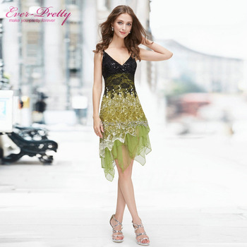 Cocktail Dresses Ever Pretty HE0045 Summer Styles New Arrival Hot Sexy Knee Length Lace Special Occasion Cocktail Dress