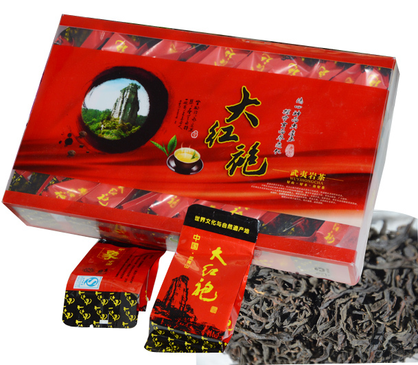 250g The big red robe of fine varieties of Chinese Da Hong Pao oolong tea health care of the original gift free shipping(China (Mainland))