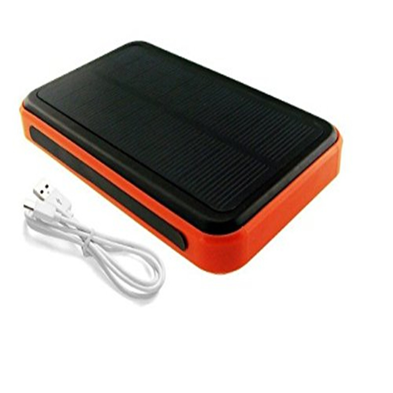 Waterproof Solar Charger Power Bank Outdoor Portable Backup Solar Mobile Power Supply For iPhone6s plus and Samsung S7 C(China (Mainland))