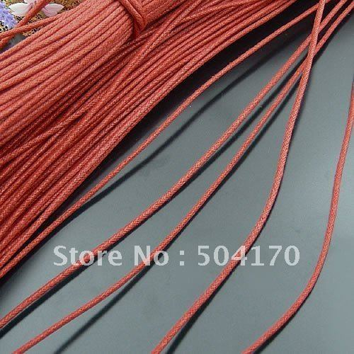 1000 Meter/lot 2mm Red Imitated Knitted Leather Chains,Jewelry Findings,Necklace Line Free Shipping<br><br>Aliexpress