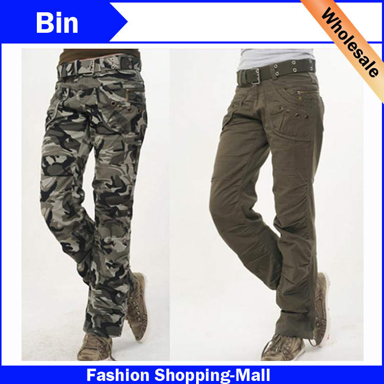 2015 new fashion autumn summer army green denim camouflage cargo pants women loose jeans baggy. Black Bedroom Furniture Sets. Home Design Ideas