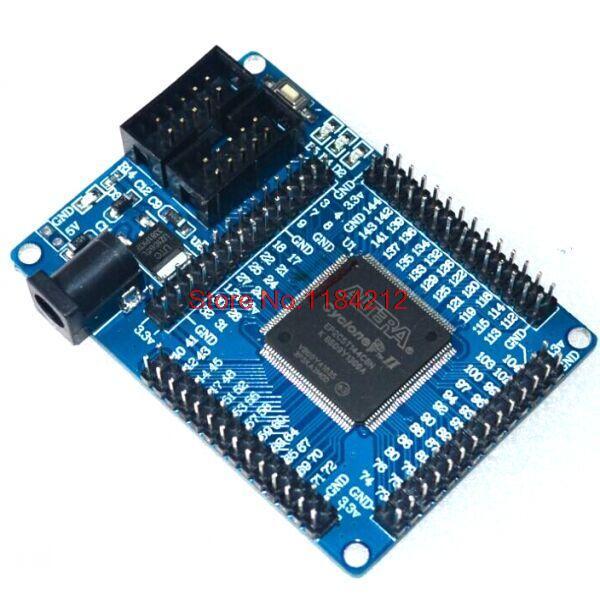 ALTERA FPGA CycloneII EP2C5T144 Minimum System Development Board Learning Board FZ0697(China (Mainland))