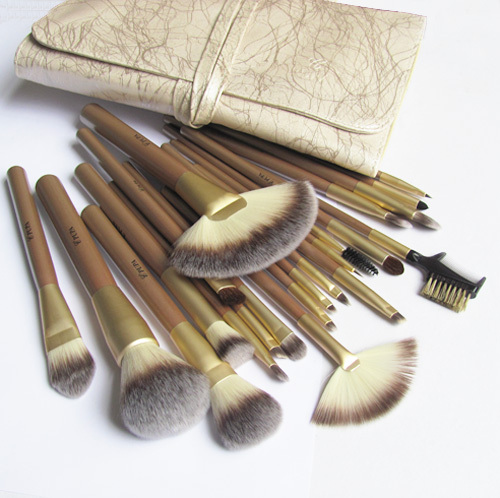 22 pupa cosmetic brush set full set professional brush makeup tools cosmetic brush set brush(China (Mainland))