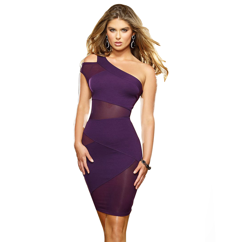 R70070 Novelty purple dress promotional woman clothes black purple red lace dresses women free shipping dress casual women(China (Mainland))