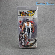 """Buy Street Fighter NECA Player Select IV Survival Model Ryu White PVC Action Figure Toy 7"""" 18CM Box for $15.77 in AliExpress store"""