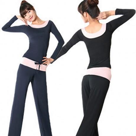 Femme vu00eatements de yoga mis vu00eatements de yoga vu00eatements sportifs lu00e2ches dames  plus la taille ...