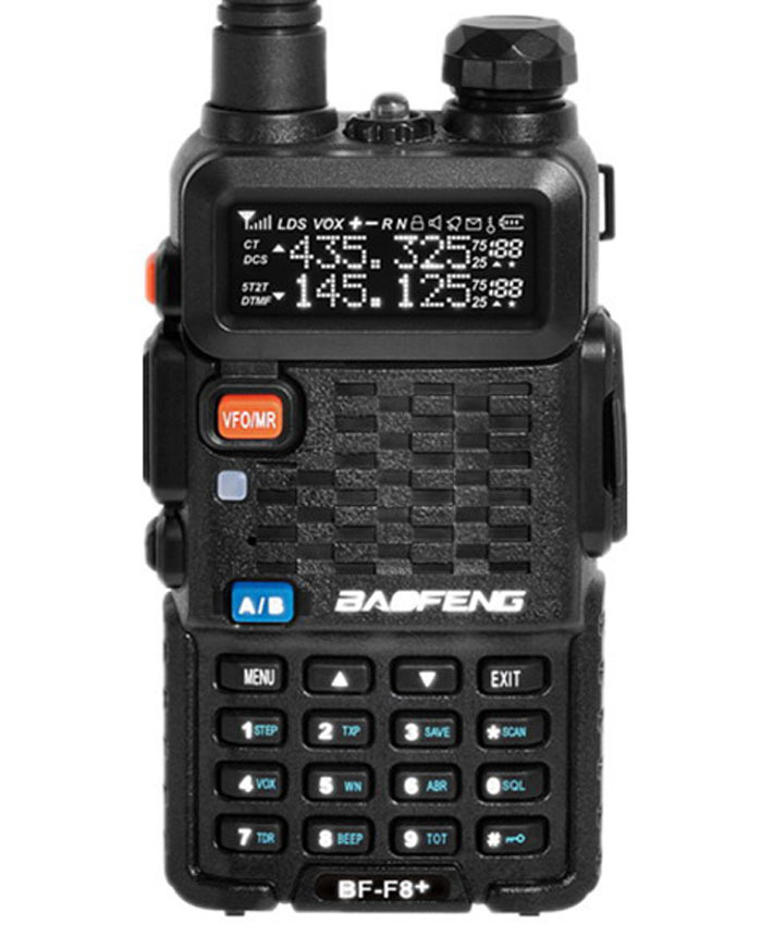Original BaoFeng BF-F8+ Professional Transceiver Dual Band FM Ham Two Way Radio Walkie Talkie Transmitter cb Radio Station