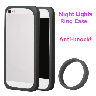 Anti-Knock Luminous bracelet Silicon case for Huawei honor 6 4c 4x 3x 3 2 Night Lights hand ring bumper cover(China (Mainland))