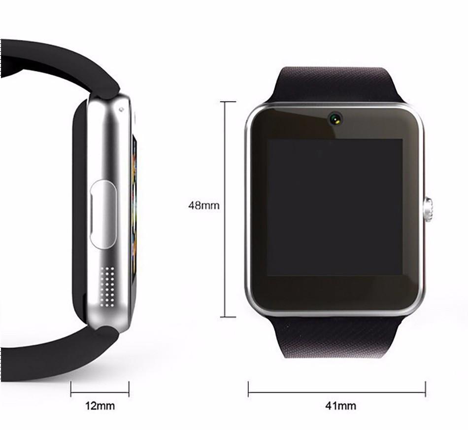 Bluetooth Smart Watch GT08 Clock Sync Notifier Support Sim Card Connectivity Apple iphone Android Phone Smartwatch Watch pk u8