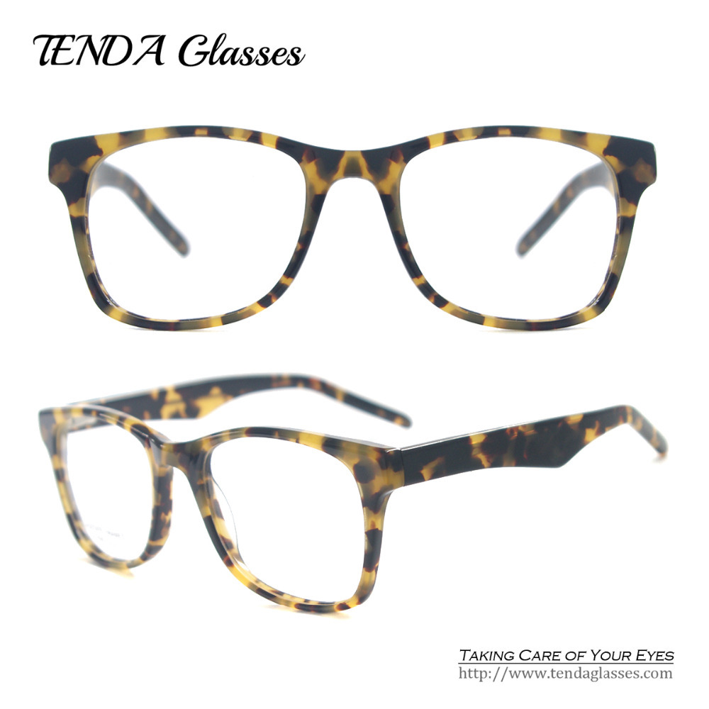 Fashon Men Big Frame Prescription Glasses Acetate Eyewear ...