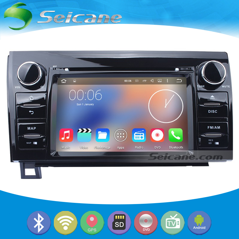 Seicane Android 5.1.1 for 2008-2014 TOYOTA Sequoia DVD Player GPS Radio Car Stereo with Touch Screen Backup Camera Mirror Link(China (Mainland))