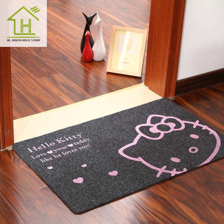 hot sale fashion 3 color non slip floor mats area rugs and