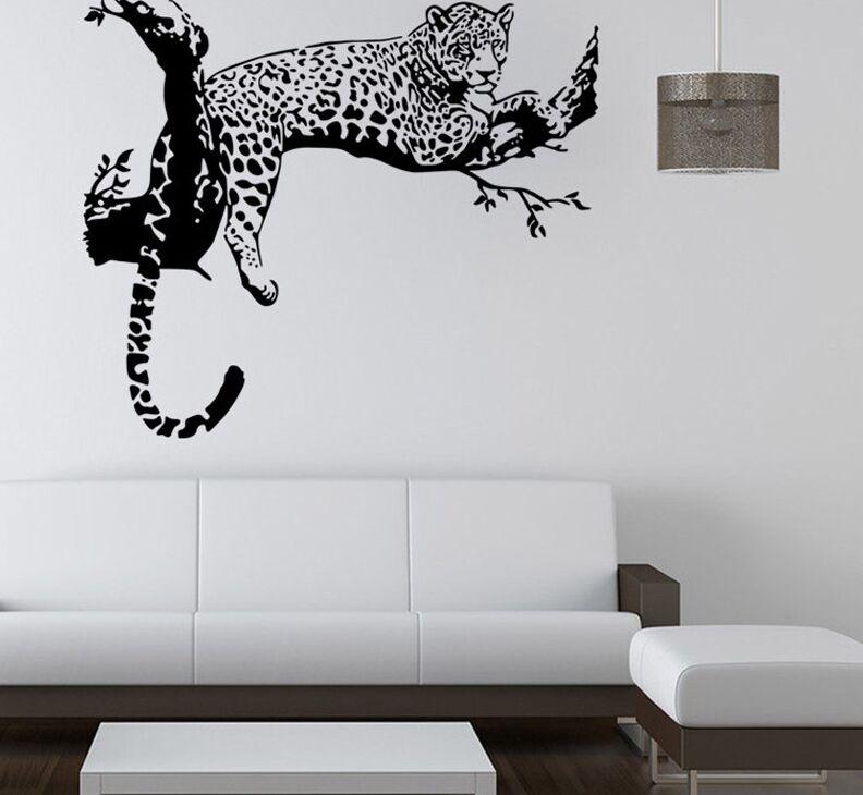 Promoci n de leopardo de vinilo compra leopardo de for Decoracion hogar leopardo