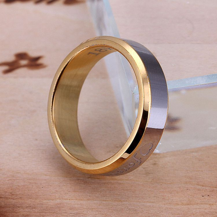 2015Free Shipping New Hot Fashion hot fall series 18k gold plated forever love Ring jewelry,Large Ring Unique Engagement Ring(China (Mainland))