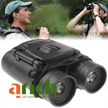 Folding Roof Prism 8x21mm Compact Binocular Durable Rubber Armoring