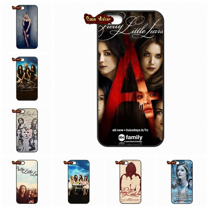 LG G2 G3 G4 HTC One M7 M8 iPod Touch 4 5 iPhone 4S 5C 5S 6 6S Plus Pretty Little Liar Hannah Aria Emily Cover Case  -  Ten End Cases store